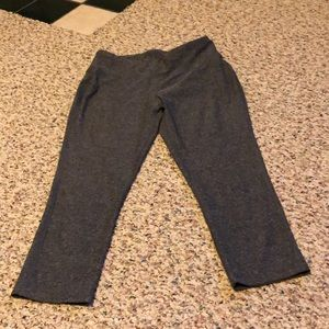 Workout crop pants